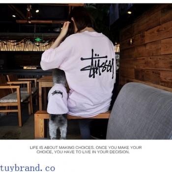stussyTシャツやパンツ夏必選商品