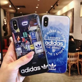 ミッキー革製iphone xケース supreme galaxy s9/s9 plusケース オシャレ アディダスオリジナルスiPhone x/8/8plusケース