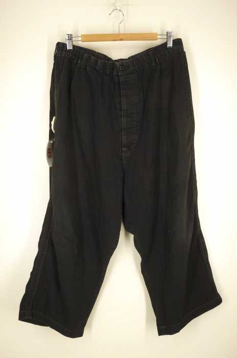 Yohji Yamamoto POUR HOMME (ヨウジヤマモトプールオム) コットン ドローストリングパンツ メンズ パンツ
