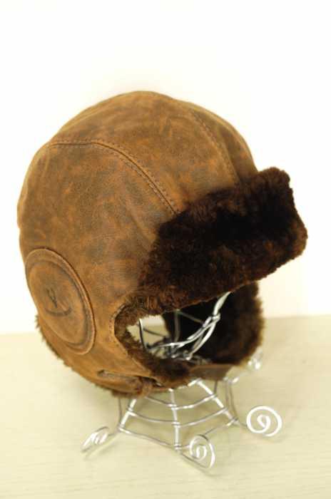USED (ブランド不明) CANADA製 HARRICANA SPORT パイロット帽 メンズ 帽子
