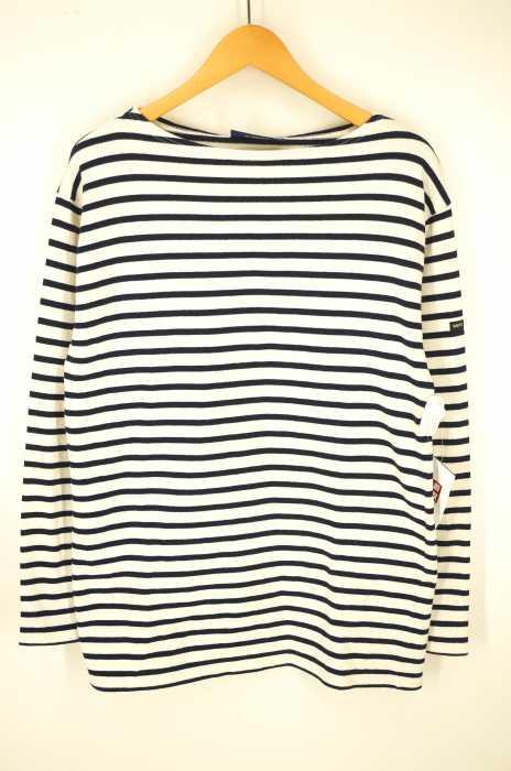 SAINT JAMES (セントジェームス) バスクシャツ メンズ トップス