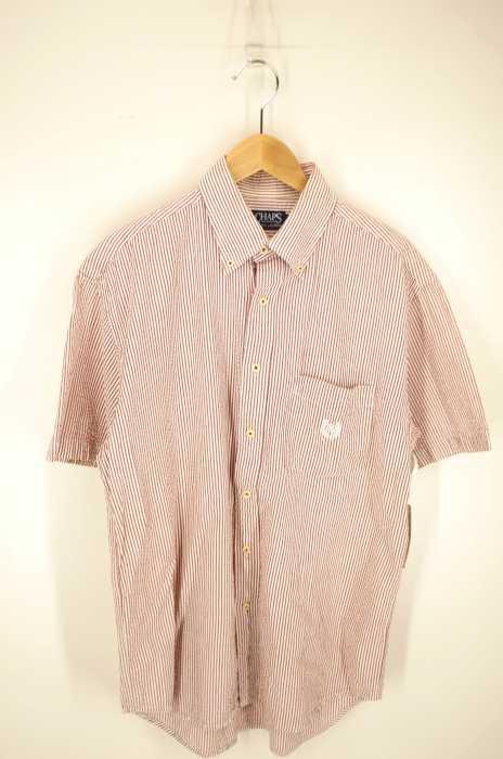CHAPS RALPH LAUREN  (チャップスラルフローレン) ボタンダウン ポケット付き シアサッカー メンズ トップス