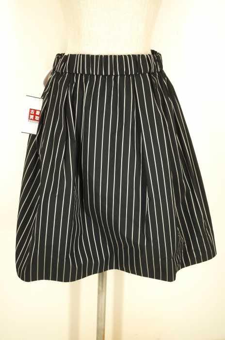 Demi-Luxe BEAMS (ビームス) ウエストギャザー タフタスカート レディース スカート
