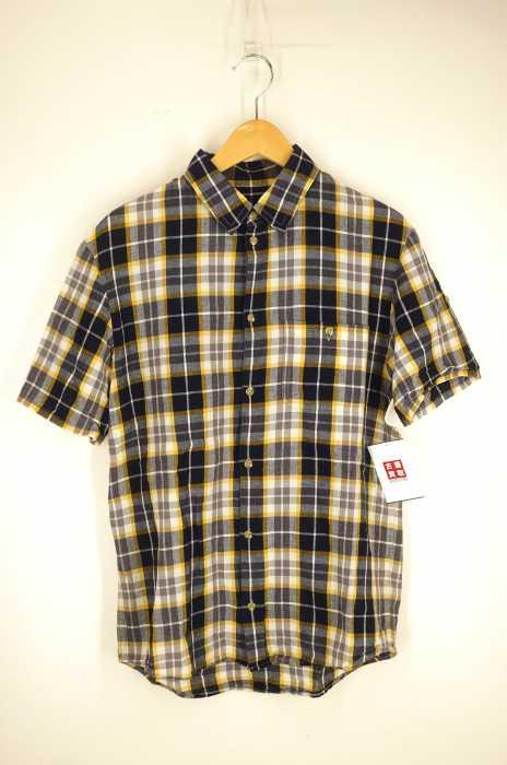 A.P.C. (アーペーセー) チェック柄半袖シャツ メンズ トップス
