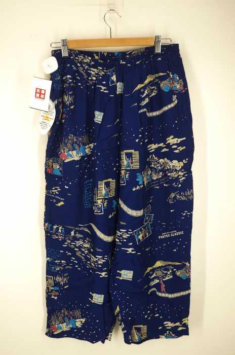 PORTER CLASSIC (ポーター) FILM NOIRALOHA PANTS メンズ パンツ