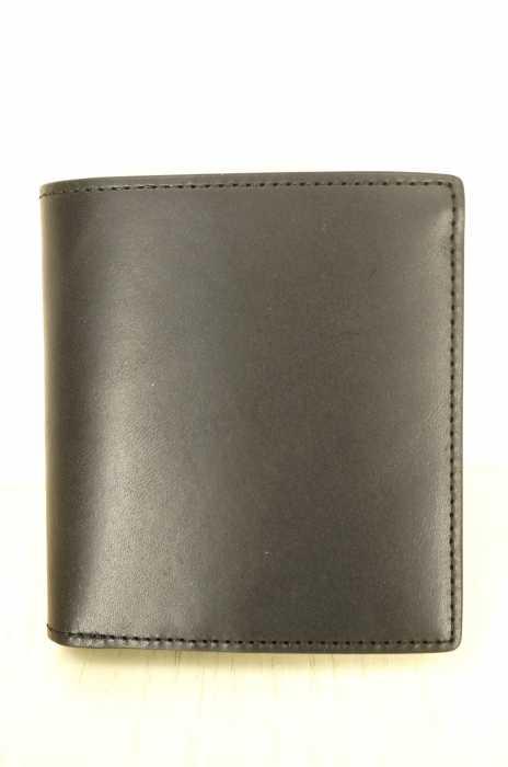 MUJI (ムジ) ヌメ革二つ折り財布 メンズ 財布・ケース