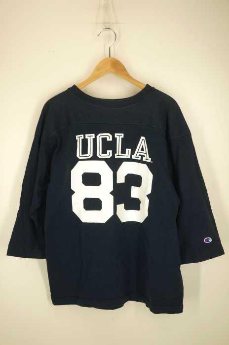Champion × UCLA(チャンピオン) ナンバリング T1011 フットボールシャツ メンズ トップス