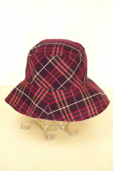 BURBERRY BLUE LABEL (バーバリーブルーレーベル) リバーシブル レディース 帽子