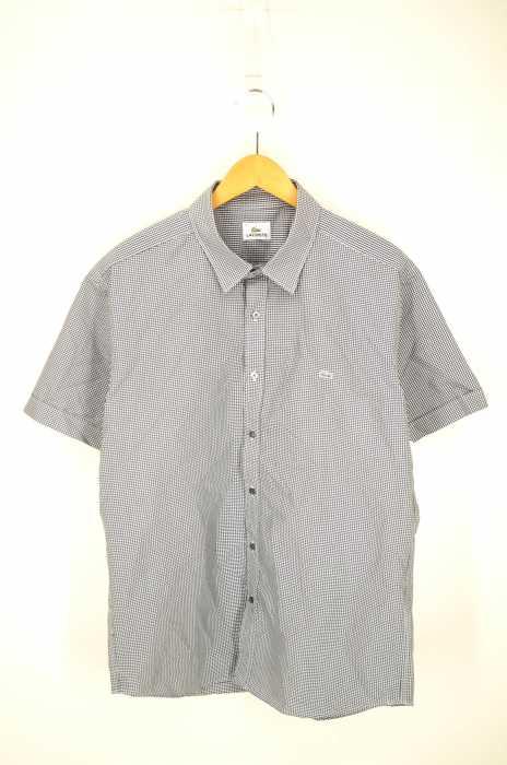 LACOSTE (ラコステ) ギンガムチェックシャツ メンズ トップス