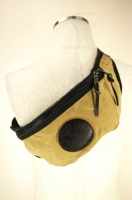 Duluth Pack(ダルーパック) レザーパッチ ボディバッグ メンズ バッグ
