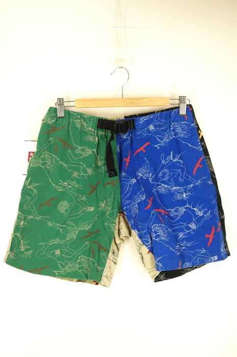 WILD THINGS(ワイルドシングス) 総柄 クライミング ショートパンツ メンズ パンツ