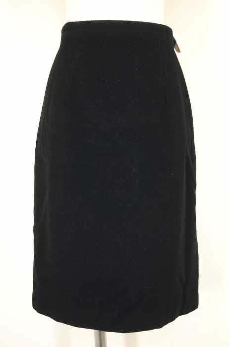 YOHJI YAMAMOTO (ヨウジヤマモト) カシミア混 レディース スカート