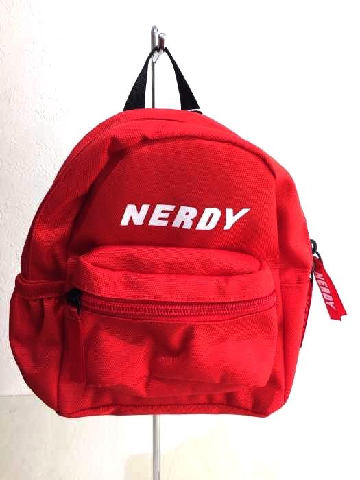nerdy(ノルディー) 3way Mini Backpack_Red メンズ バッグ