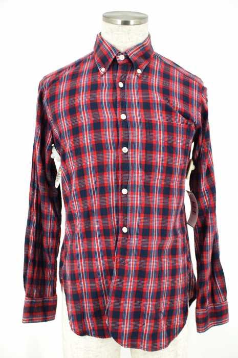 Engineered Garments (エンジニアードガーメンツ) チェックボタンダウンシャツ メンズ トップス