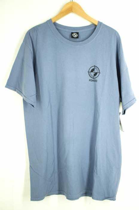 POWERS(パワーズ) バックプリントTシャツ ラバープリント メンズ トップス