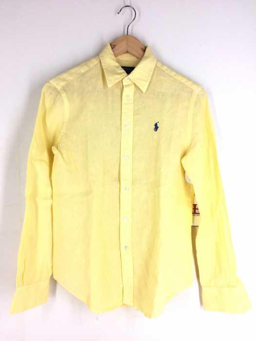 POLO RALPH LAUREN(ポロラルフローレン) RELAXED FIT ポニー刺繍 リネン長袖シャツ メンズ トップス