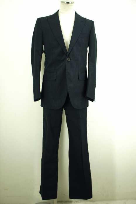Epoca uomo (エポカウォモ) ストライプ1Bジャケットセットアップ メンズ パンツ