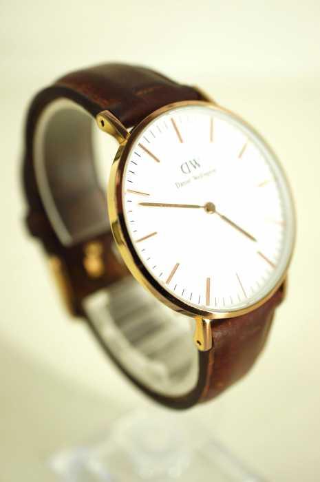 Daniel Wellington(ダニエルウェリントン) レザーバンド レディース 腕時計