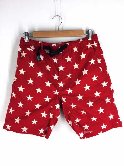 DENIM & SUPPLY RALPH LAUREN (デニムアンドサプライ ラルフローレン) 星柄 コットンハーフパンツ メンズ パンツ