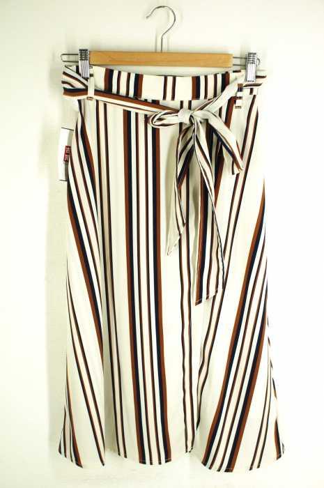 VICKY(ビッキー) ストライプトラップフレアスカート レディース スカート