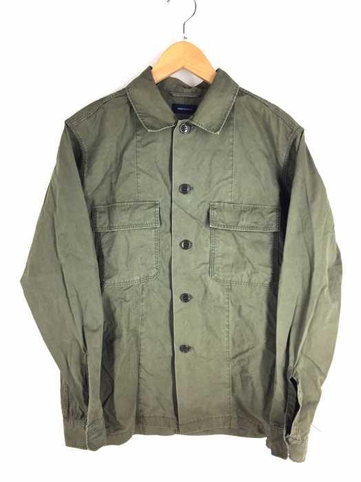 AMERICAN RAG CIE(アメリカンラグシー) 高密度綿ウェザー ファティーグシャツ メンズ アウター