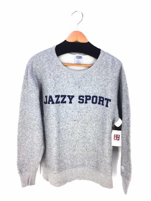 JAZZY SPORT(ジャジースポート) ロゴプリント スウェット メンズ トップス