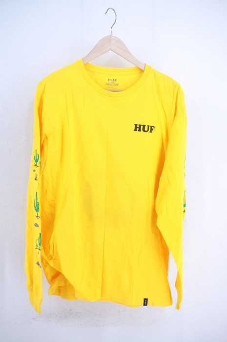 HUF × PEANUTS (ハフ ピーナッツ) キャラクタープリントロングスリーブTシャツ メンズ トップス