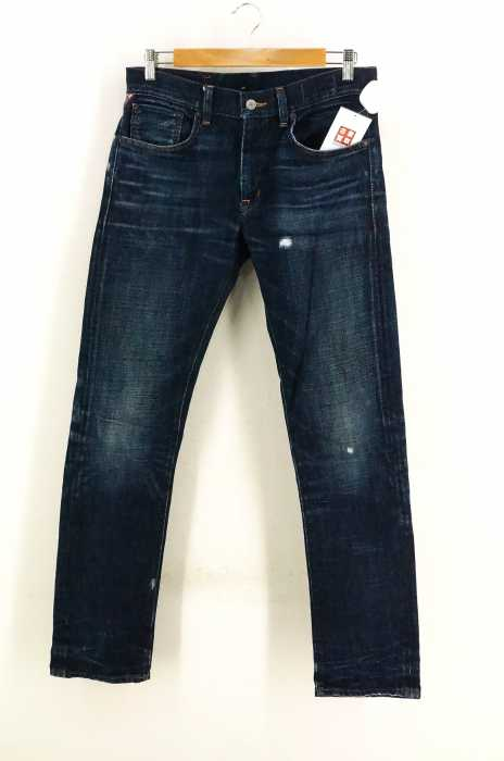 Denim & Supply Ralph Lauren(デニムアンドサプライラルフローレン) ダメージ加工テーパードデニム メンズ パンツ