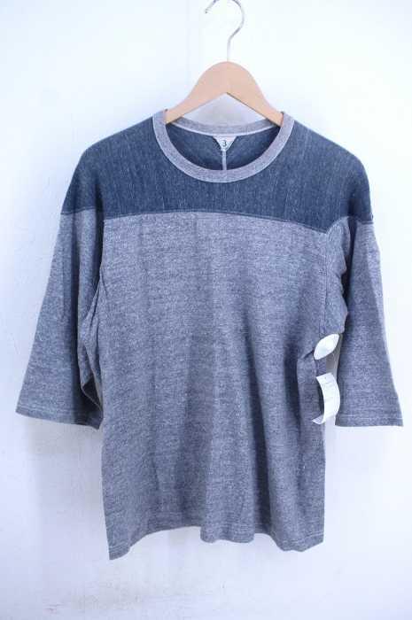 EDIFICE × FilMelange(エディフィス フィルメランジェ) 別注 EXフットボールシャツ MONTANA メンズ トップス