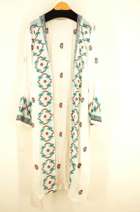 TODAYFUL(トゥデイフル) Embroidery Long Gown レディース ワンピース