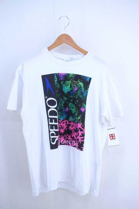speedo(スピード) クルーネックプリントTシャツ メンズ トップス