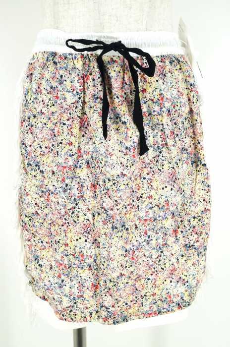 TOGA PULLA (トーガプルラ) 総柄フリンジスカート レディース スカート