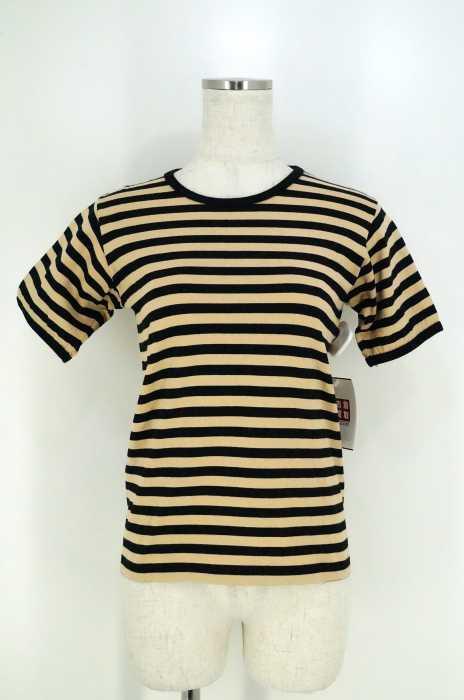 marimekko (マリメッコ) ボーダー柄 半袖Tシャツ カットソー レディース トップス