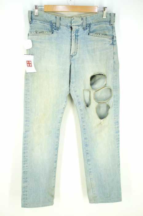 N.HOOLYWOOD×Lee(エヌハリウッドリー) ダメージ加工デニムパンツ メンズ パンツ