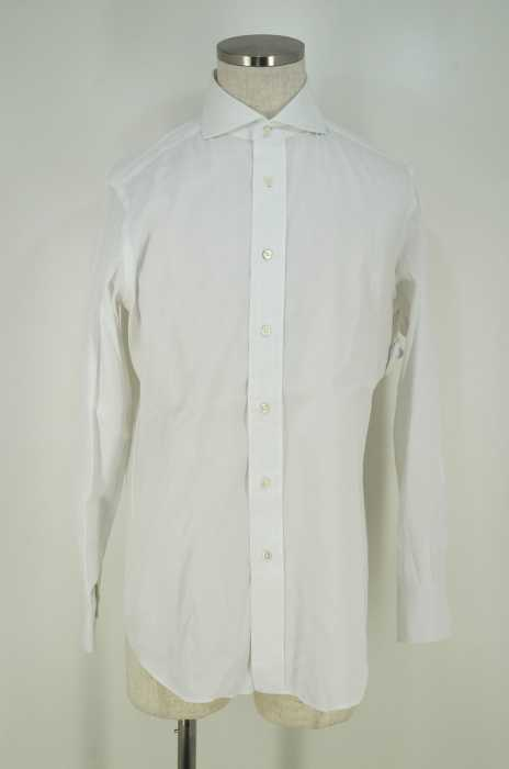 Makers Shirt 鎌倉 (メーカーズシャツカマクラ) ワイドカラーボタンシャツ メンズ トップス