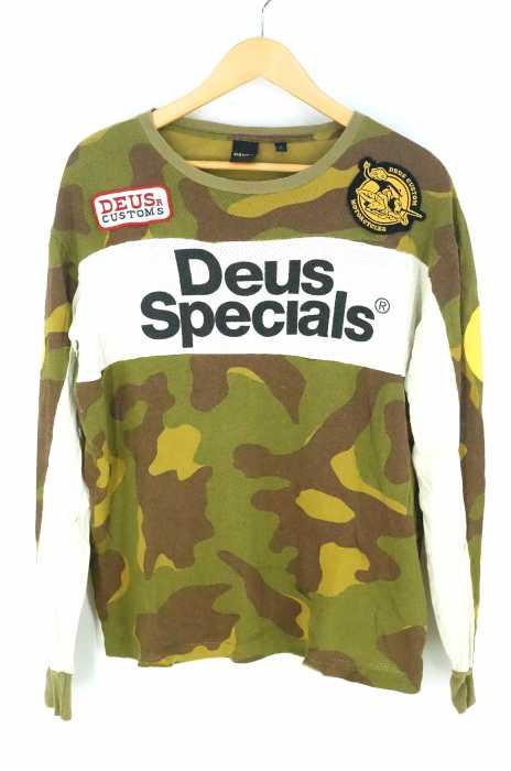 DEUS(デウス) ワッペン メッシュTシャツ メンズ トップス