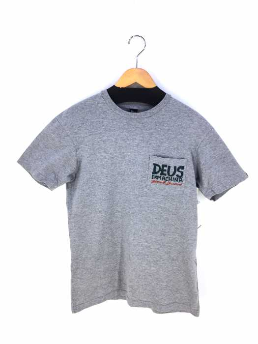 Deus Ex Machina(デウスエクスマキナ) クルーネック ポケット プリント Tシャツ メンズ トップス