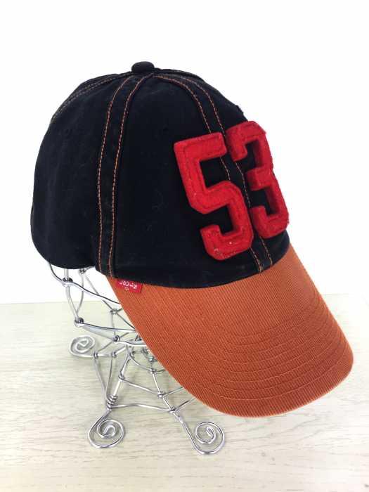 Levi's (リーバイス) 53フェルトワッペンキャップ メンズ 帽子