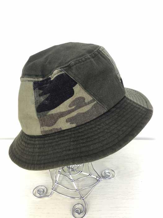 AVIREX(アヴィレックス) カモ パッチワーク ハット メンズ 帽子