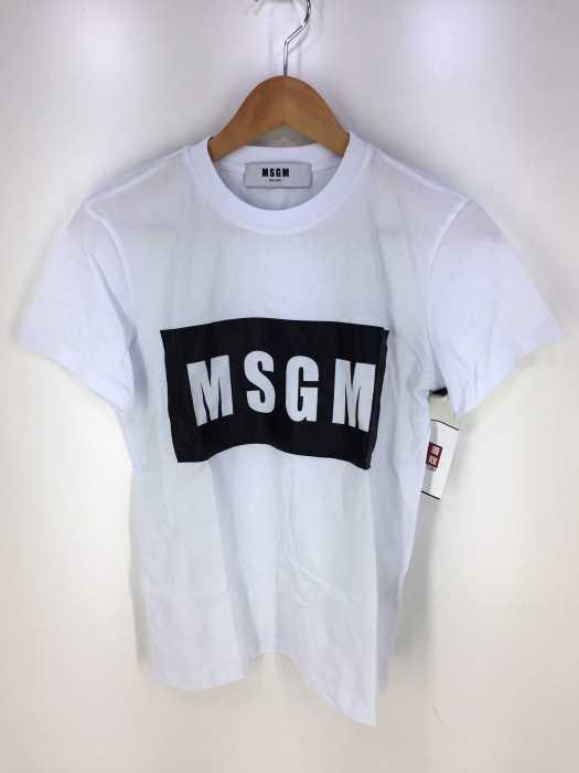 MSGM(エムエスジーエム) パネルTシャツ レディース トップス
