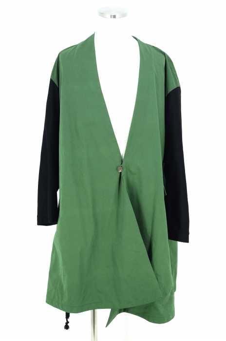 ohta (オオタ) 17SS green spring coat ノーカラーコート メンズ アウター