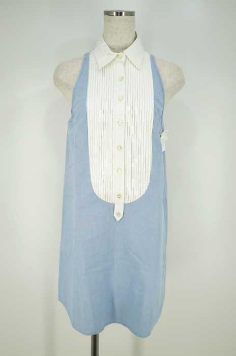 DOUBLE STANDARD CLOTHING (ダブルスタンダードクロージング) ノースリーブシャツワンピース レディース トップス