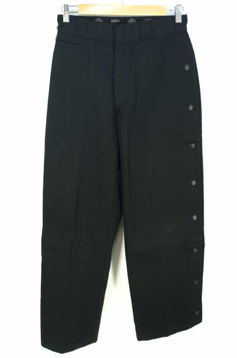 Dickies × MYne(ディッキーズ マイン) side snap wide pants メンズ パンツ