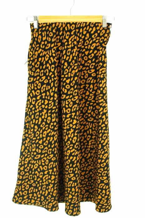 Adam et Rope (アダムエロペ) レオパードスカート レディース スカート