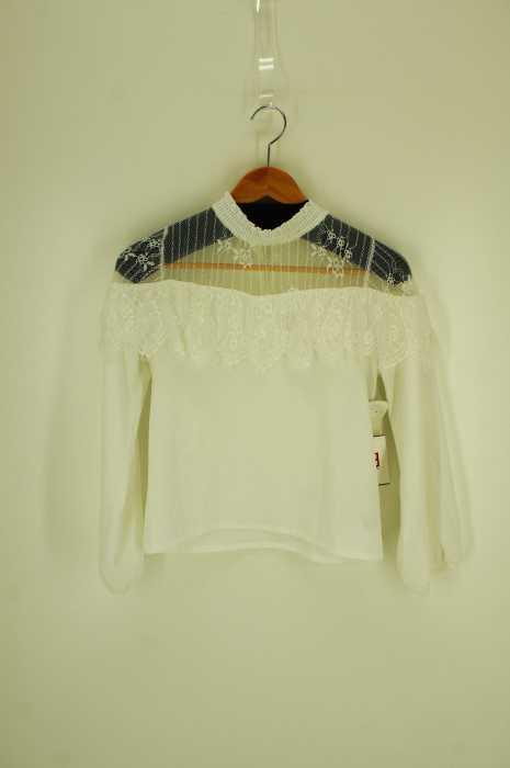 couture BY ROJITA(クチュール バイ ロジータ) レースシースルーブラウス レディース トップス