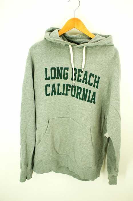Champion (チャンピオン) LONG BEACH CALIFORNIA プルオーバーパーカー メンズ トップス