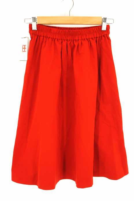 BEAUTY & YOUTH UNITED ARROWS  (ビューティーアンドユースユナイテッドアローズ) BYSF グログランギャザーミドルスカート レディース スカート