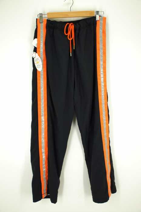 FLAGSTUFF×Lambda Takahashi×BEAUTY&YOUTH(フラッグスタッフ 高橋ラムダ ビューティーアンドユース) 17SS「GAME PANTS/パンツ」サイドラインイージーパンツ メンズ パンツ