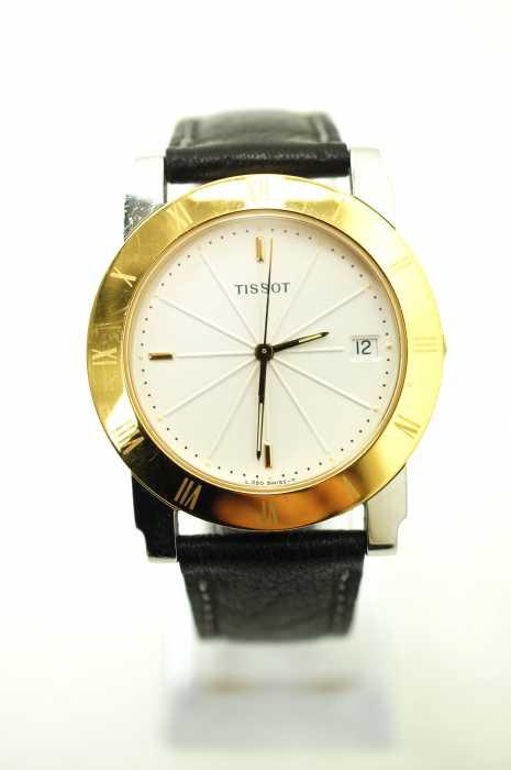TISSOT(ティソ) L390 レザーベルト メンズ 腕時計