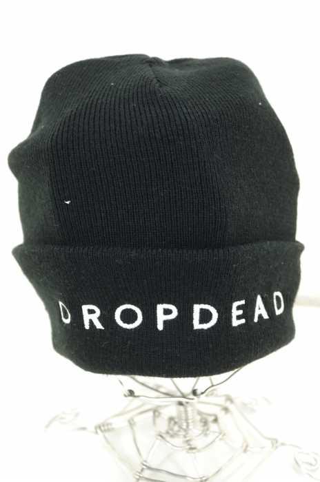 DROPDEAD(ドロップデッド) ロゴ刺繍アクリルニットキャップ メンズ 帽子
